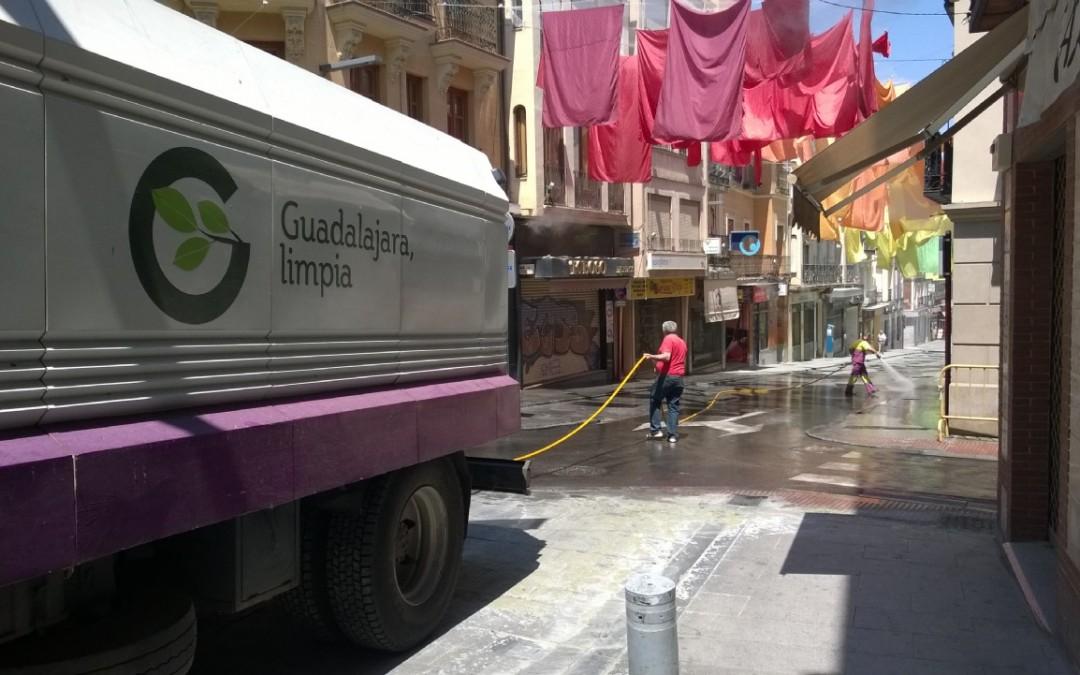 Sacyr cobrará 111 millones de euros por limpiar las calles y recoger la basura de Guadalajara