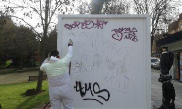 Reducir el número de graffitis, objetivo principal de la Concejalía de Medio Ambiente