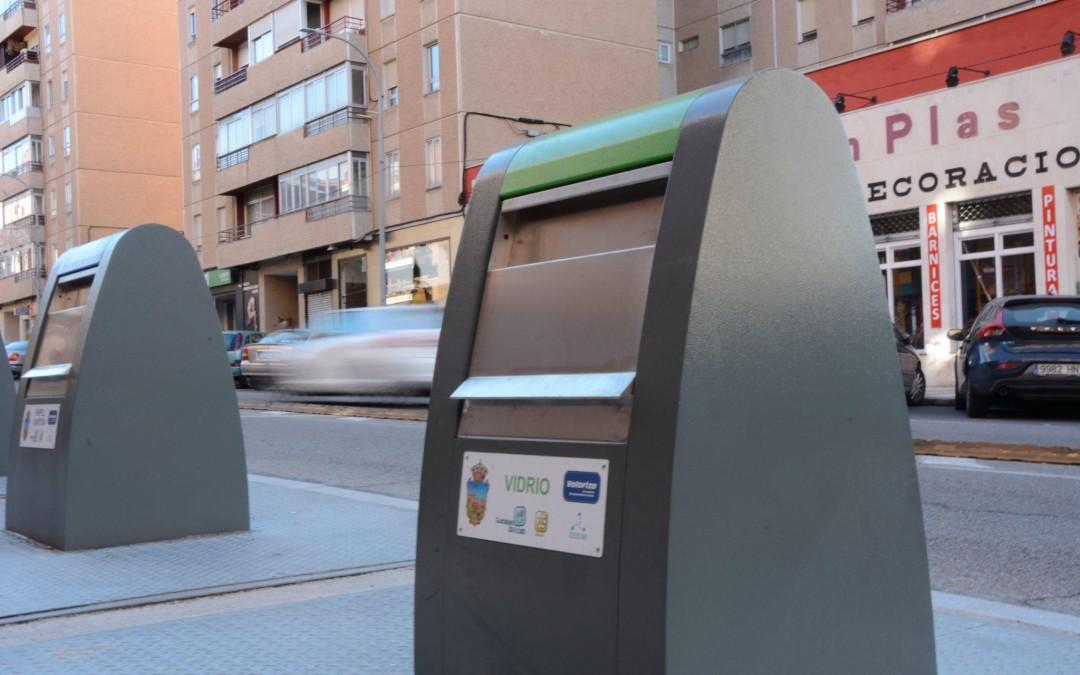Ya están operativos los nuevos contenedores soterrados de Guadalajara